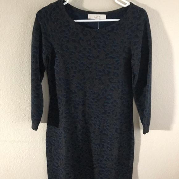 LOFT Dresses & Skirts - LOFT sweater dress XS